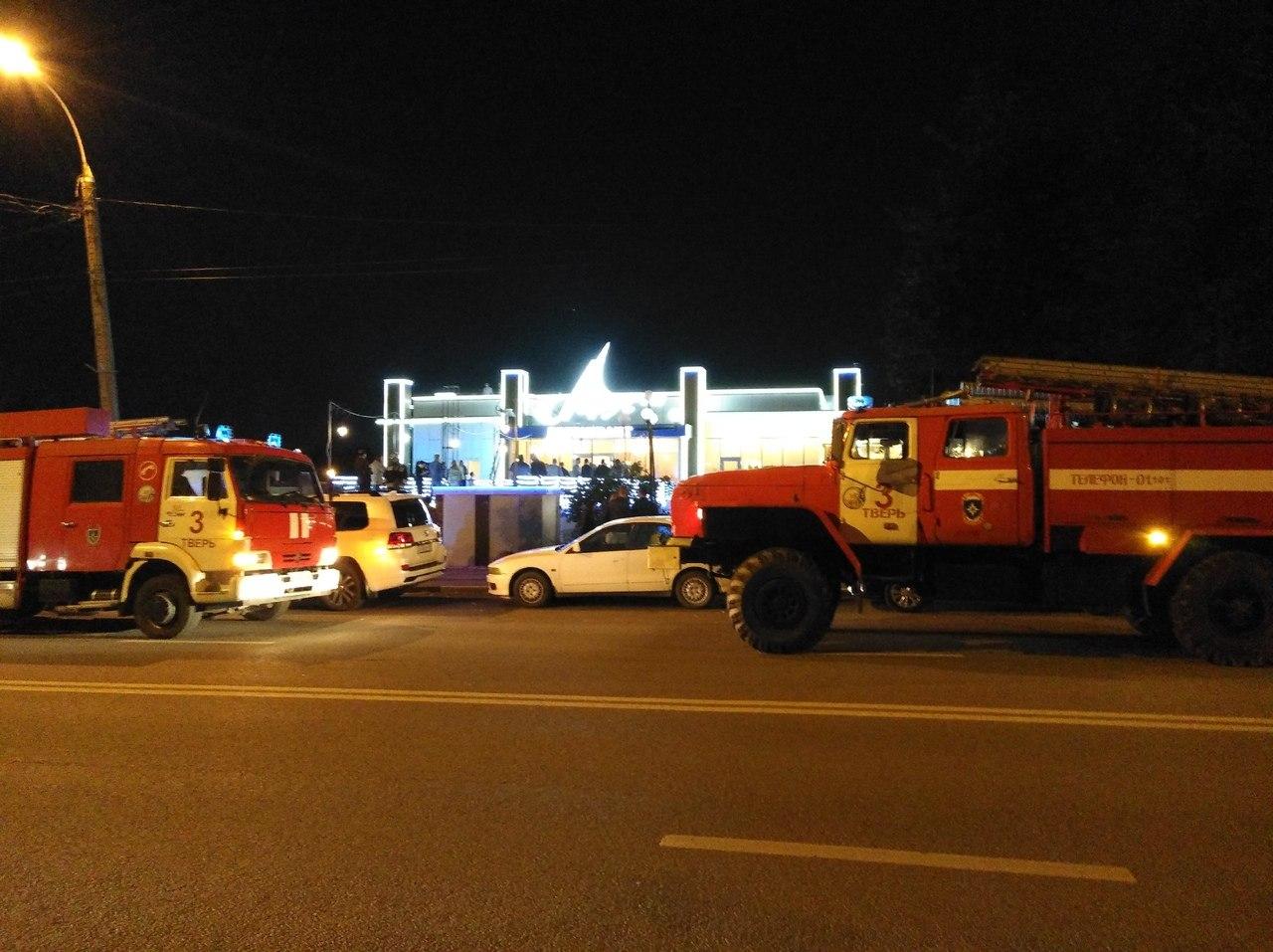 В Твери горел ресторан «Парус» - новости Афанасий