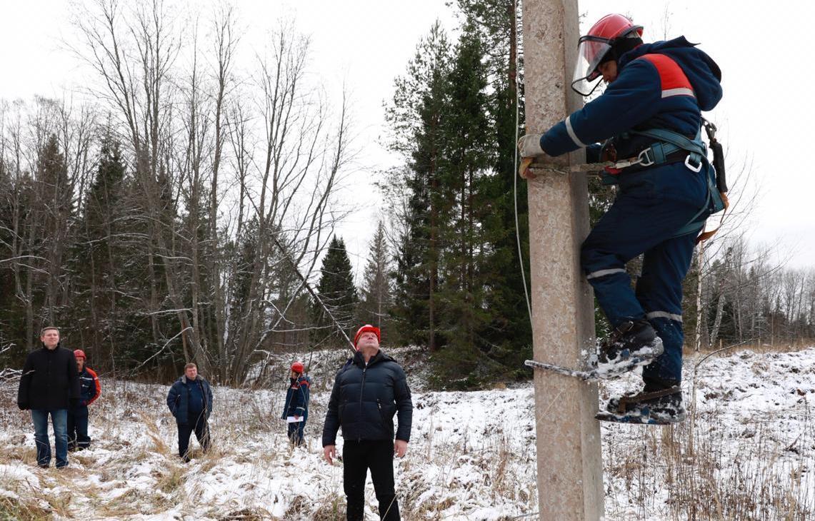В Тверской области завершается восстановление нарушений в электроснабжении - новости Афанасий