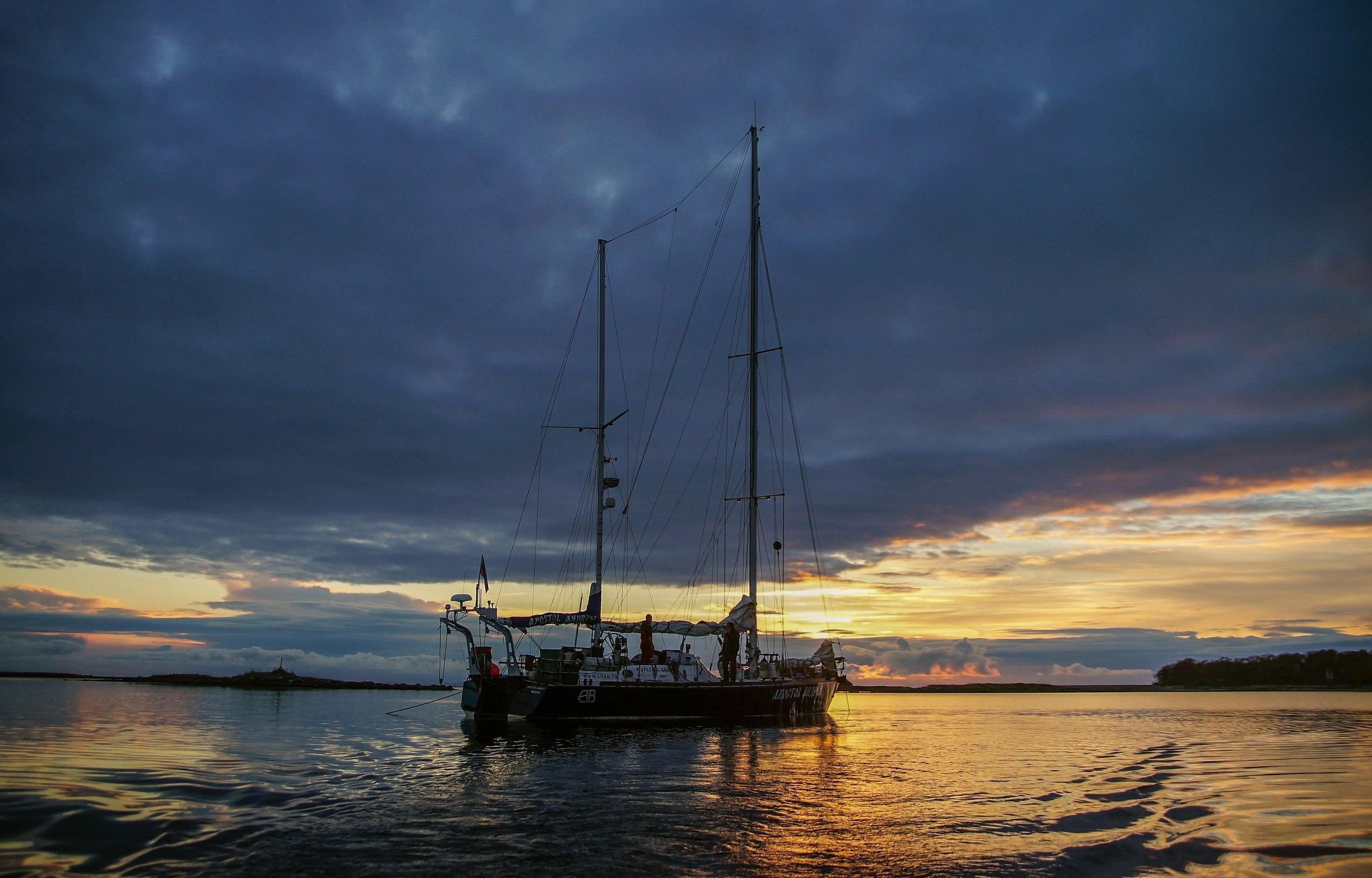 24 года назад в первое кругосветное плавание отправилась яхта «Апостол Андрей», построенная на Тверском вагонзаводе - новости Афанасий