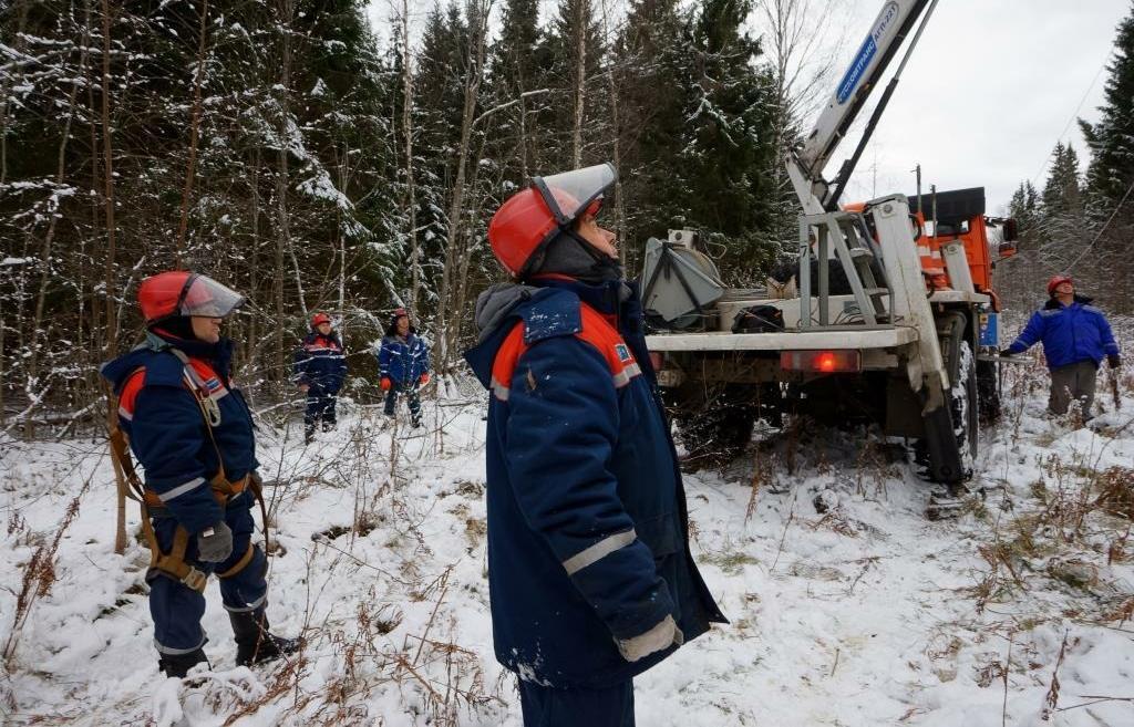 В Тверской областивосстановлено энергоснабжение потребителей основной сети «Тверьэнерго» - новости Афанасий
