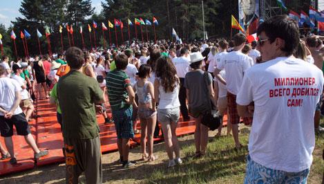 "33 дня лагерей: ""Селигер""-2012 в цифрах"