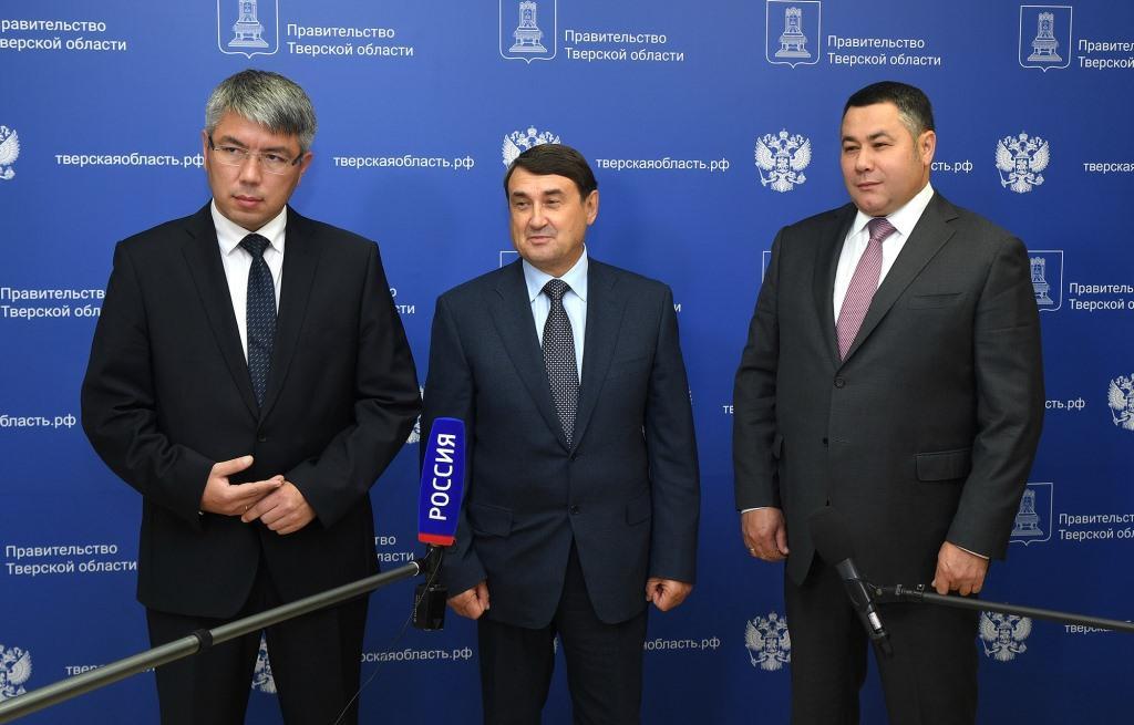 Помощник Президента РФ Игорь Левитин назвал Тверскую область передовой в развитии общественного транспорта - новости Афанасий