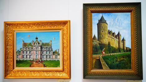 В Твери открылась выставка работ Никаса Сафронова