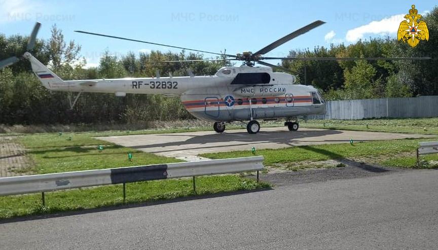 В Тверь вертолетом доставили молодого мужчину с тяжелой кататравмой - новости Афанасий