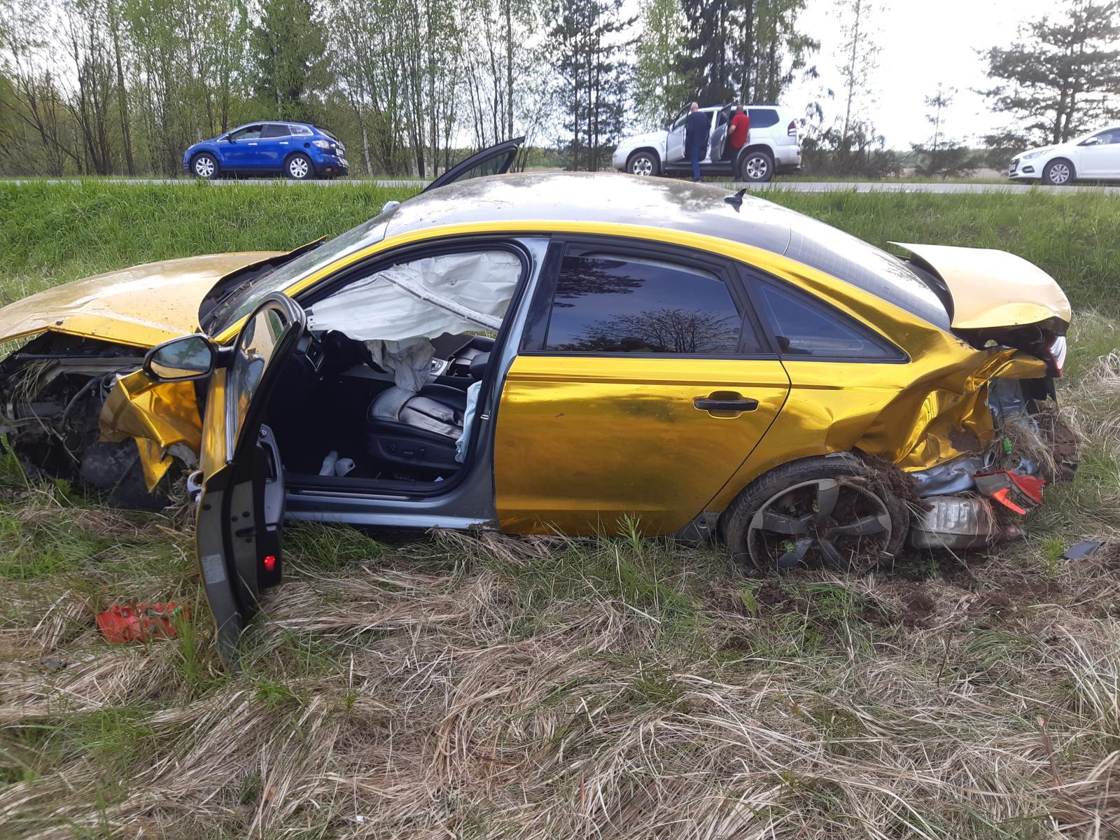Доездился: пьяный водитель, попавший в ДТП под Лихославлем ранее уже пытался уйти от погони ДПС - новости Афанасий