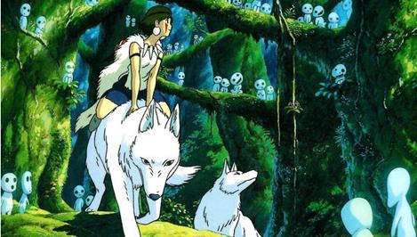 В Твери пройдет открытый показ аниме фильма «Принцесса Мононоке»