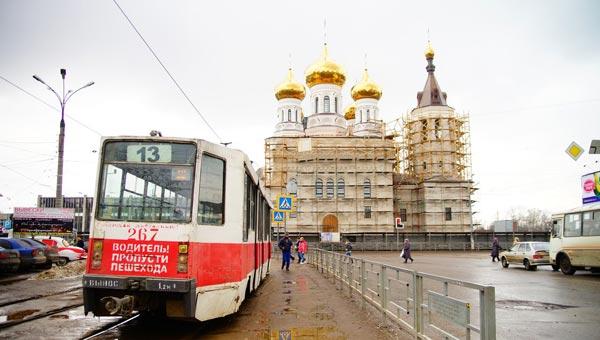 Первое богослужение в Александро-Невском храме на привокзальной площади Твери пройдет на Пасху