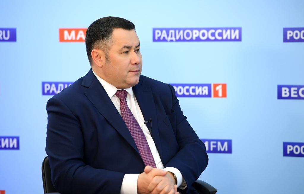 Вечером 2 июля губернатор Игорь Руденя даст интервью в прямом эфире «Россия 24» - новости Афанасий