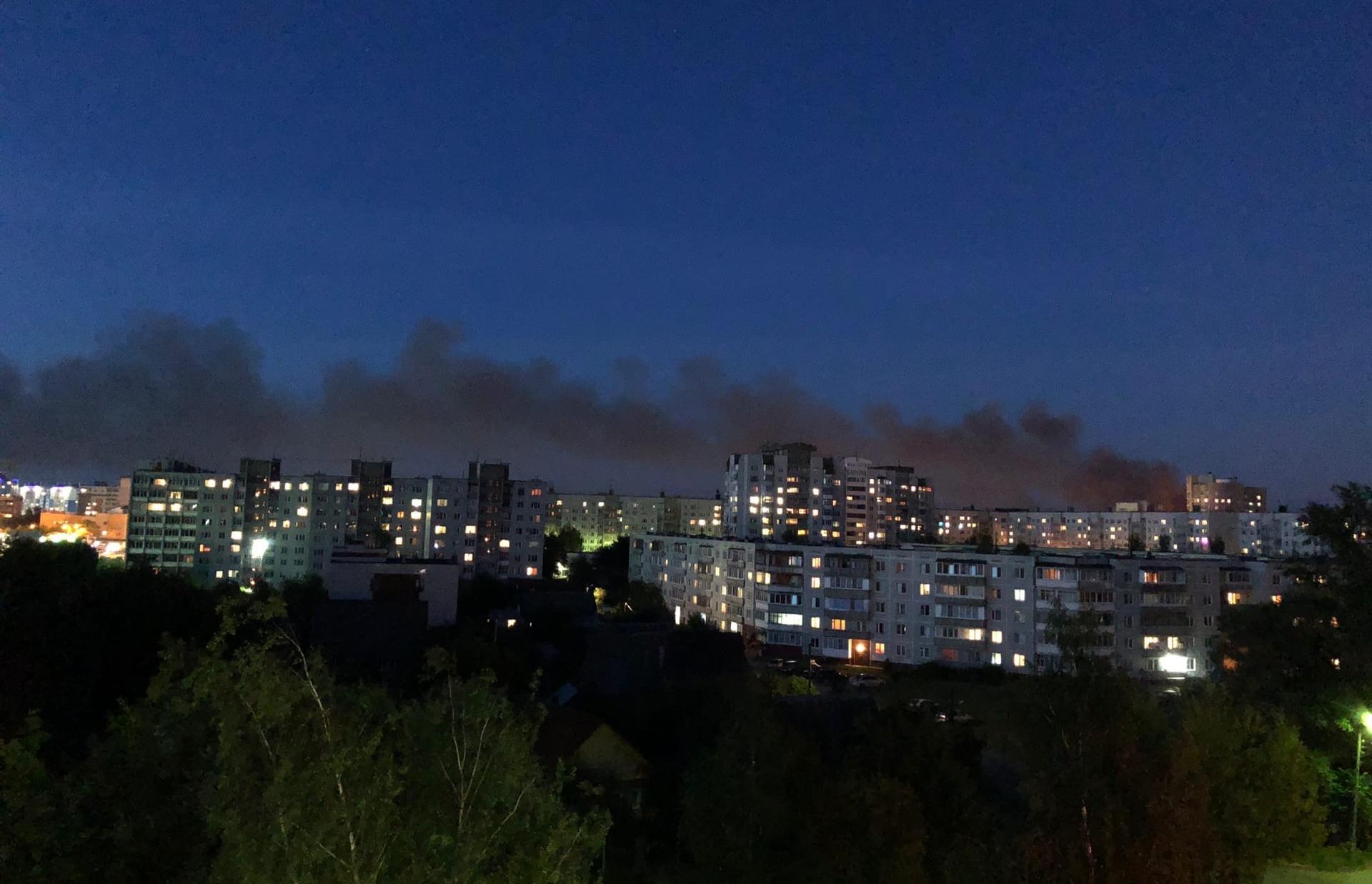 В Твери снова горит заброшенная химбаза - новости Афанасий