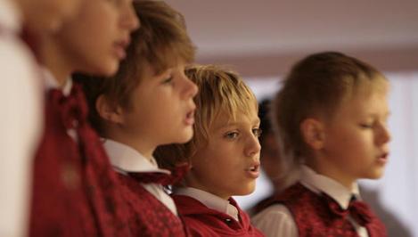 Конаковский хор мальчиков выступит на закрытии Олимпиады в Сочи