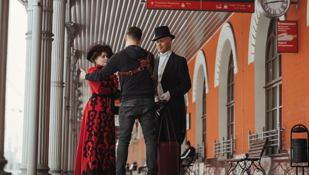 Железнодорожный вокзал Твери стал главным героем исторического фильма - новости Афанасий