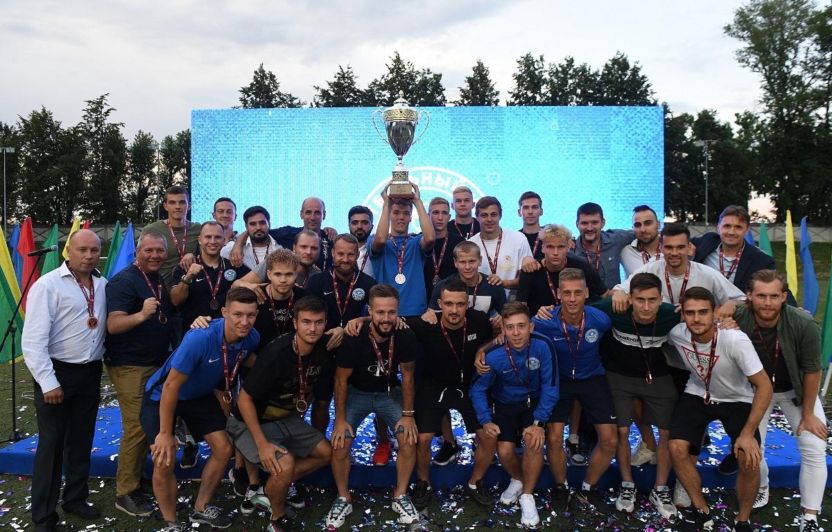 Игорь Руденя принял участие в церемонии награждения ФК «Тверь» за 3 место в Профессиональной футбольной лиге