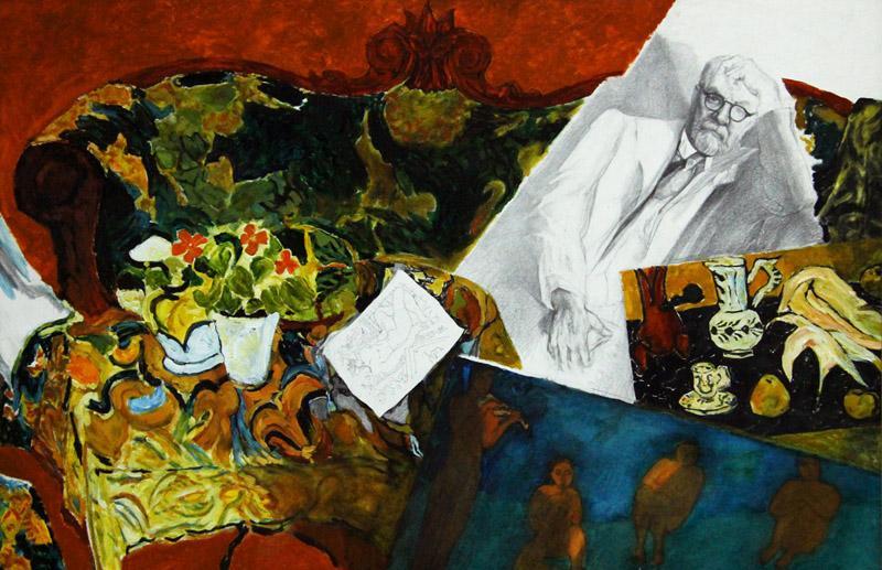 В Твери открылась выставка Виктории Воеводиной «Люди и судьбы»