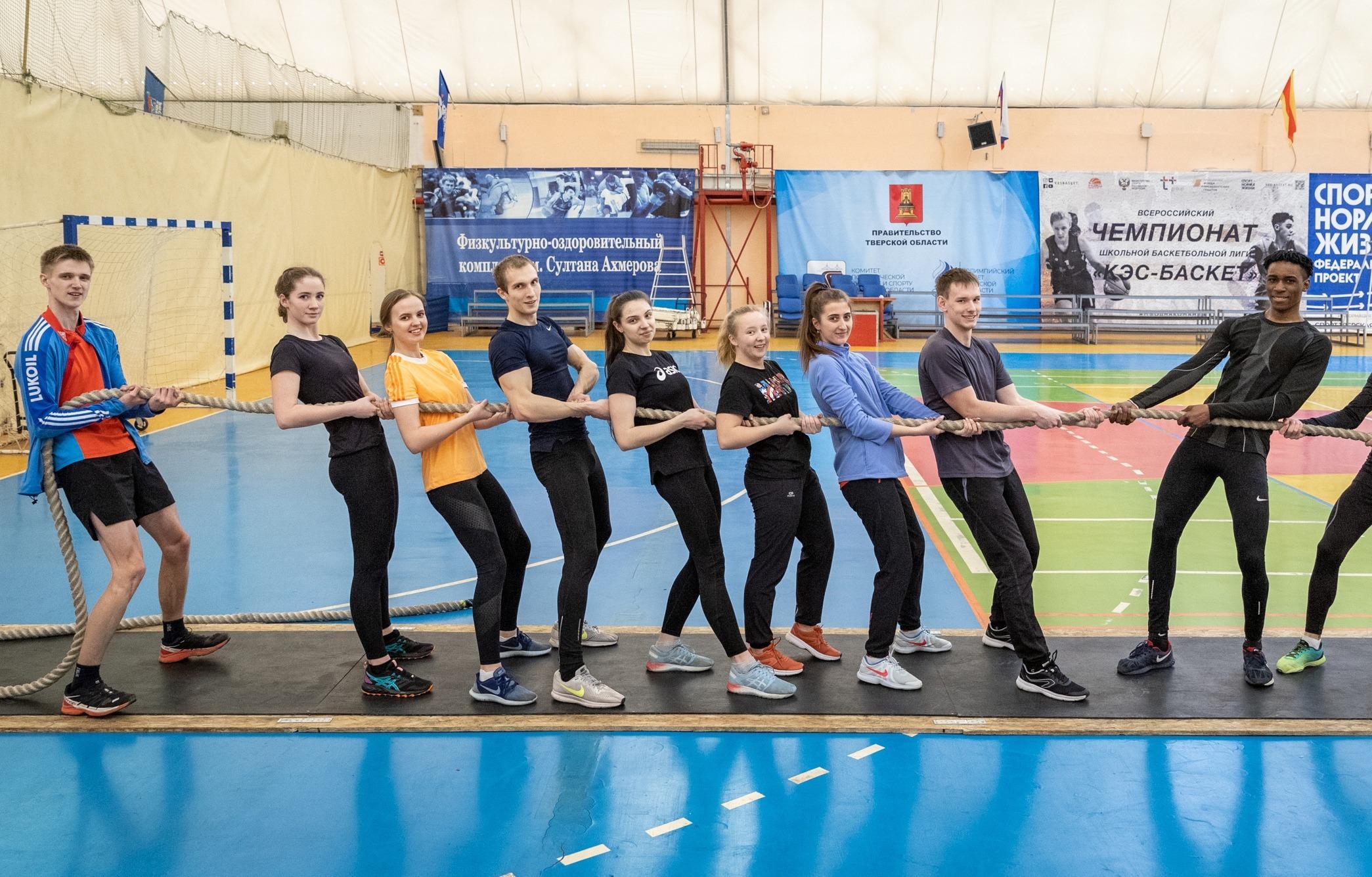 Студенты Политеха - бронзовые призёры соревнований по перетягиванию каната  - новости Афанасий