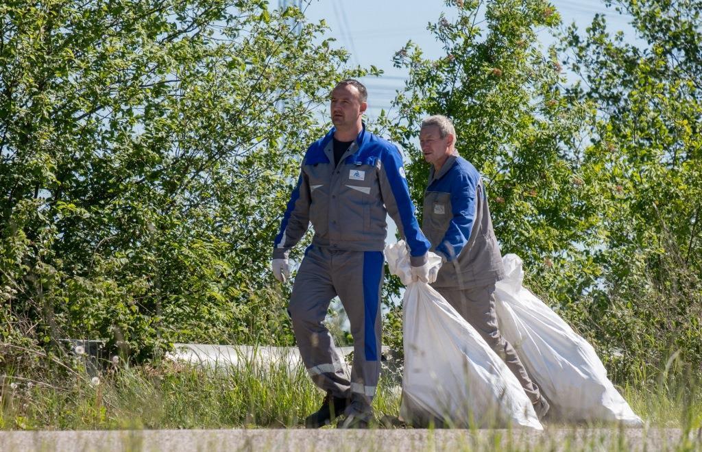 Калининская АЭС: более 5 тонн мусора убрали атомщики с береговой линии Удомельского водохранилища  - новости Афанасий