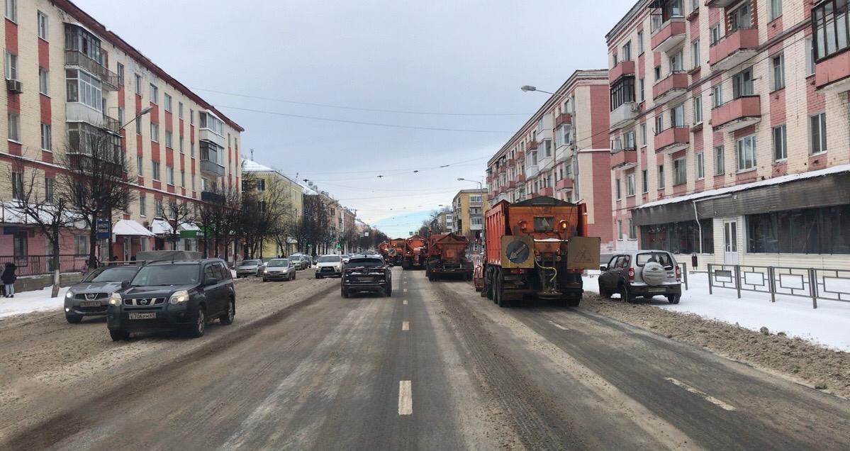 Администрация Твери: после снегопада улицы убирают в усиленном режиме