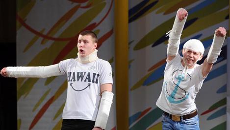 Студенты ТвГТУ оказались самыми веселыми и находчивыми на фестивале КВН лиги «Верхневолжья»
