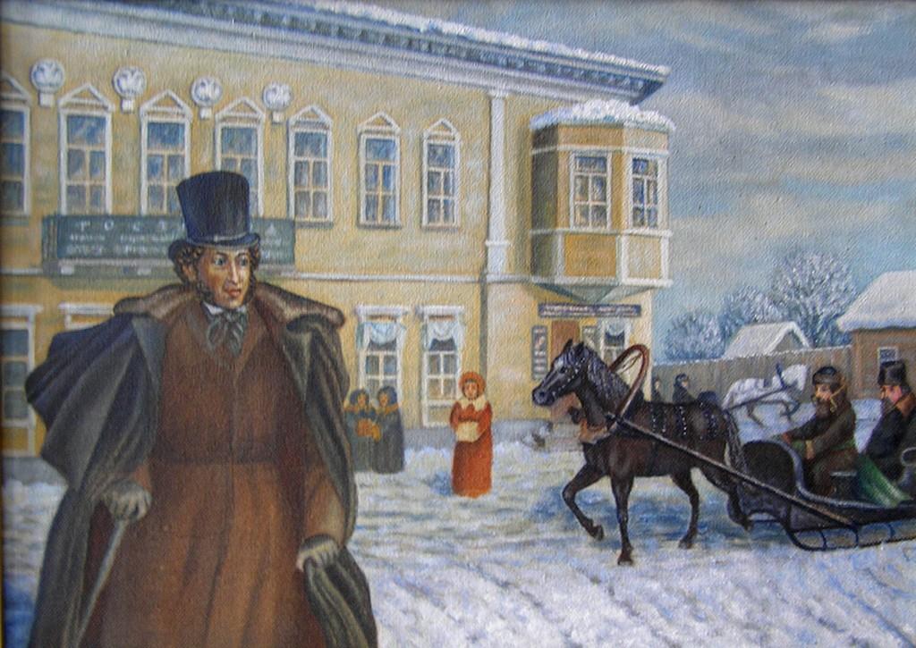 Выставка картин, посвященных А.С. Пушкину, откроется в Торжке Тверской области