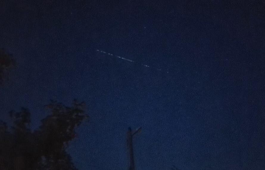 Спутники Илона Маска вновь замечены в небе над Тверской областью - новости Афанасий