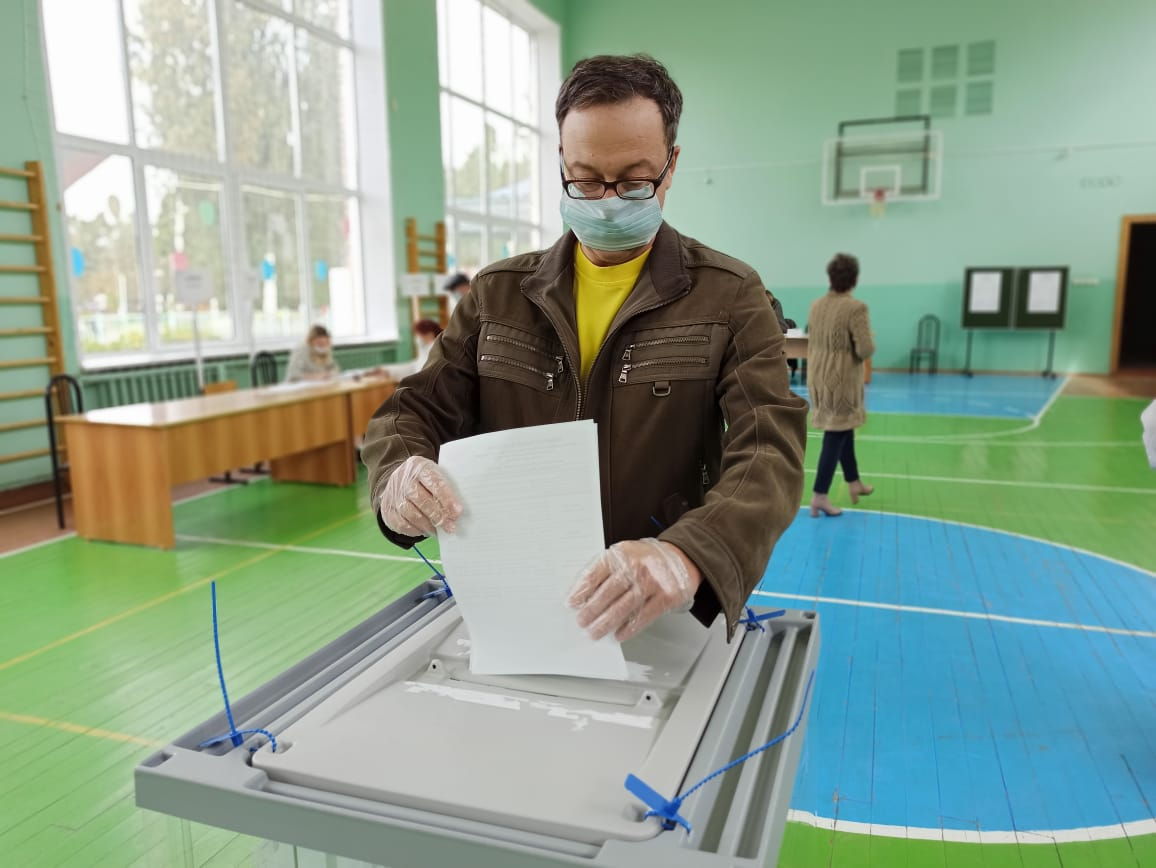 На выборах в Тверской области проголосовали больше 17% избирателей