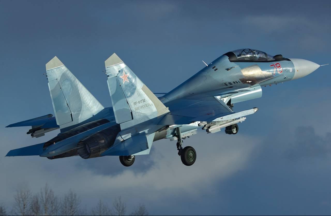 Самолет Су-30 упал в Тверской области - новости Афанасий