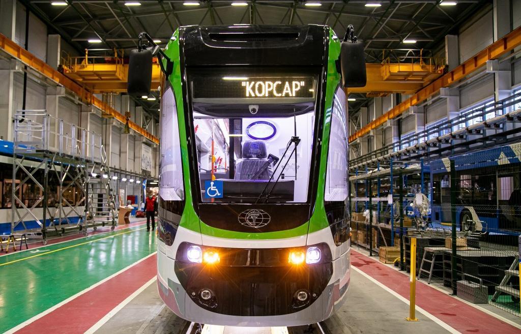 Произведенный в Твери инновационный трамвай «Корсар» тестируют в Калининграде - новости Афанасий