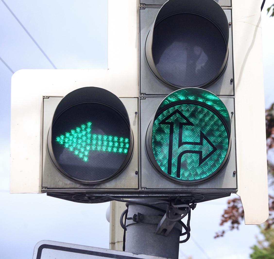 Светофор на проспекте Победы в Твери оборудуют секцией для поворота налево - новости Афанасий
