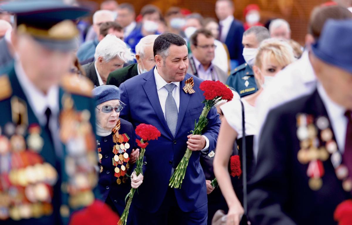 Игорь Руденя поздравил жителей Тверской области с Днем Победы