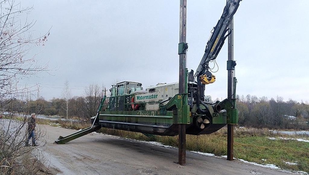 Реку Кимрку в Тверской области будут чистить при помощи земснаряда - новости Афанасий