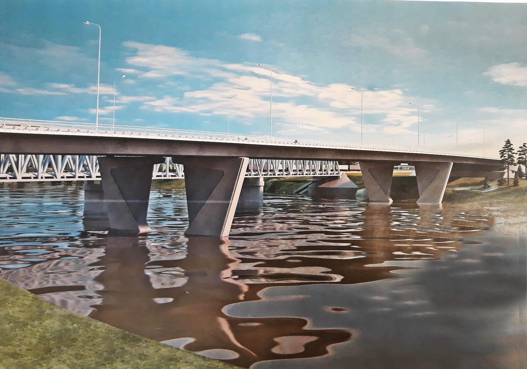 Западный мост в Твери: Игорь Руденя заявил о строительстве еще одной развязки в Заволжском районе - новости Афанасий