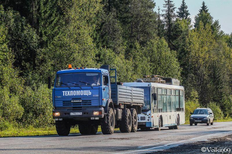 Тверские троллейбусы отправились в Ярославль - новости Афанасий