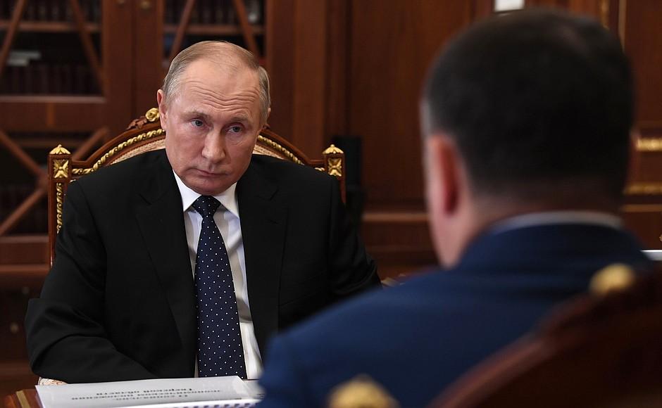 Игорь Руденя на заседании Президиума Правительства региона поручил обеспечить выполнение задач, обозначенных Президентом Владимиром Путиным - новости Афанасий
