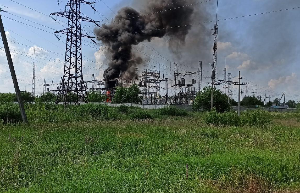 В Тверской области произошел пожар на территории элекроподстанции - новости Афанасий