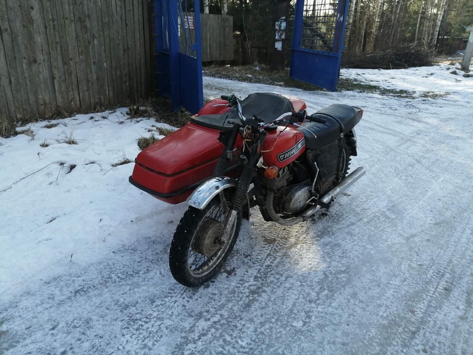 В Твери автоинспекторы отправили на штрафстоянку мотоцикл нарушителя