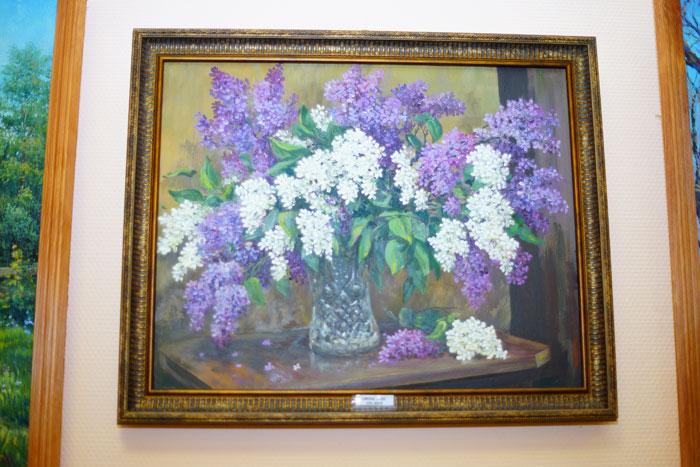 Тверской художник Александр Аюкин открыл персональную выставку живописи и графики