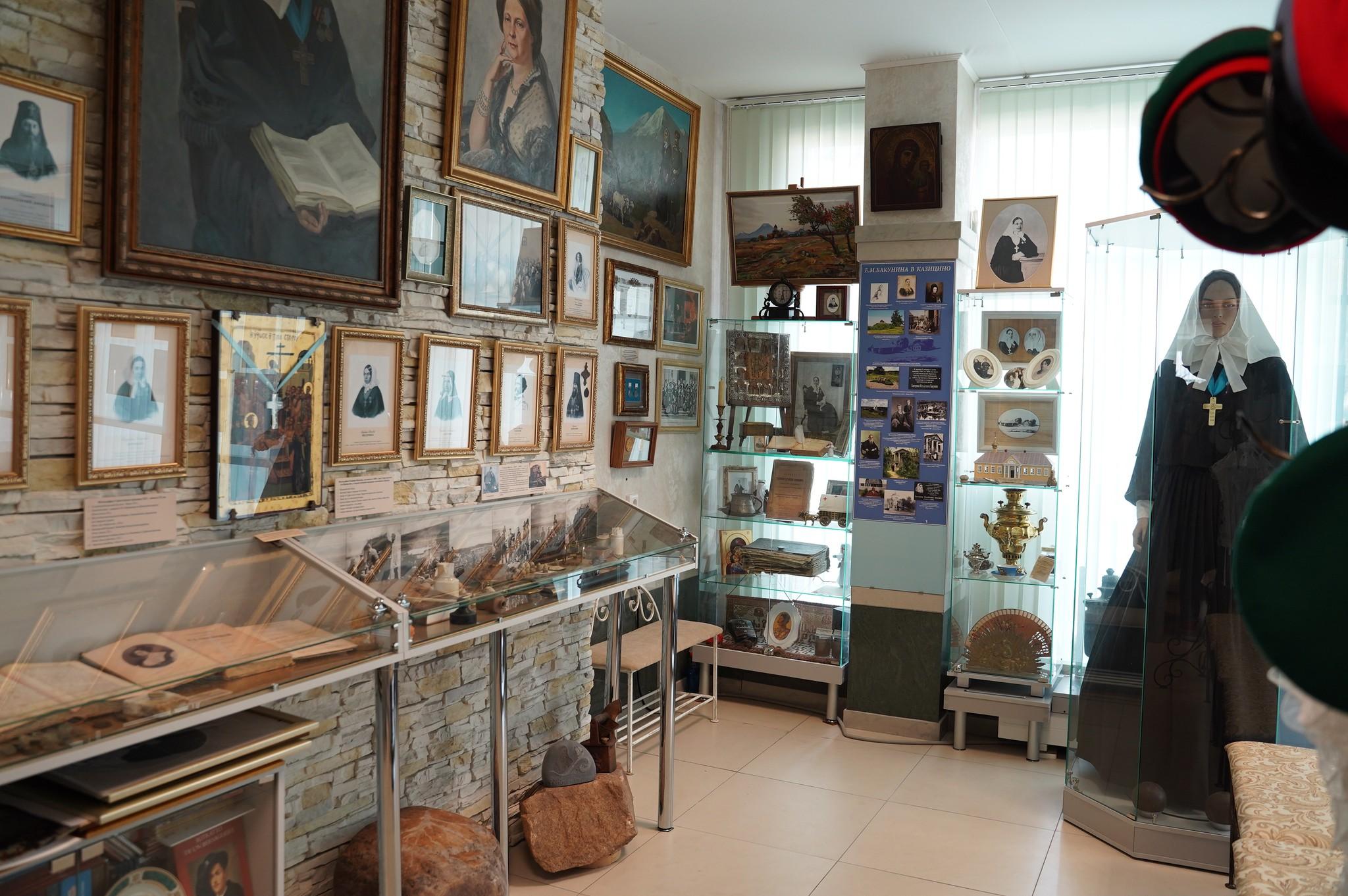В Твери открыли расширенный музей сестры милосердия Екатерины Бакуниной