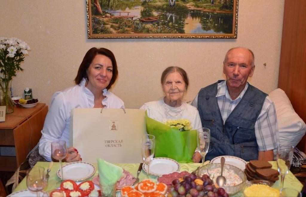 Игорь Руденя обратился к жительнице Тверской области в день ее 100-летия - новости Афанасий