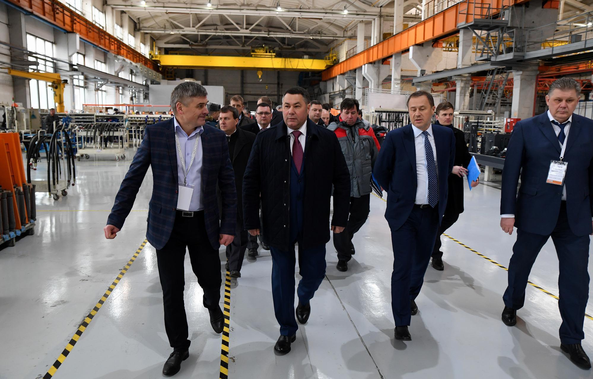 Тверская область оказалась в пятерке инвестиционно активных регионов ЦФО - новости Афанасий