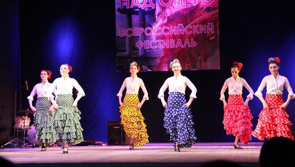 Хореографическая студия «Эстель» дебютировала на Всероссийском фестивале «Фламенко над Онего»