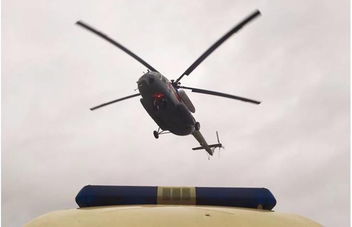 Двух пациентов районных больниц экстренно доставили в Тверь вертолетом - новости Афанасий