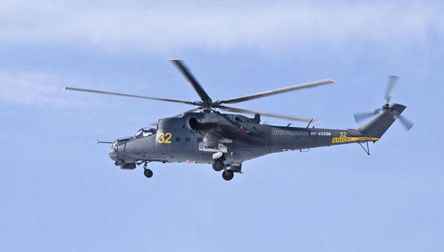 Вертолетчики десантируются на территорию «Нашествия»