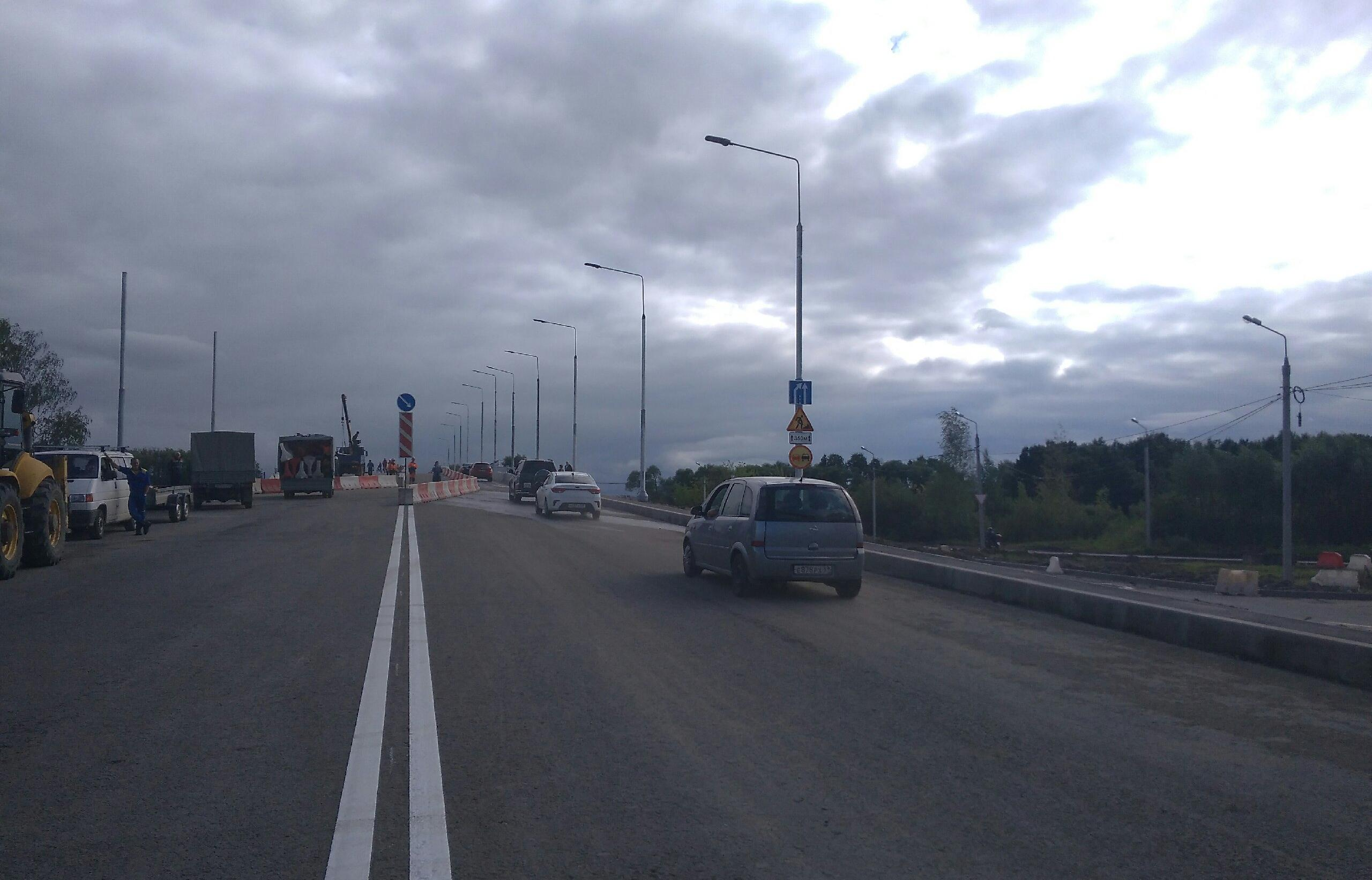 В Твери открыли движение автотранспорта по Крупскому мосту - новости Афанасий