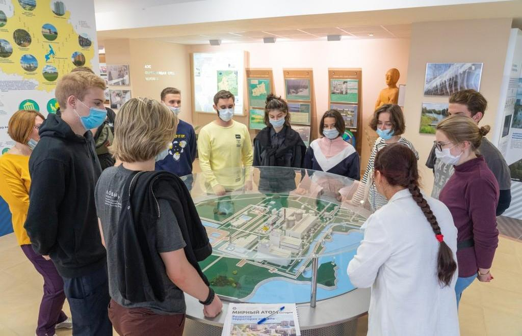 Студенты медицинских вузов Санкт-Петербурга познакомились с работой Калининской АЭС - новости Афанасий