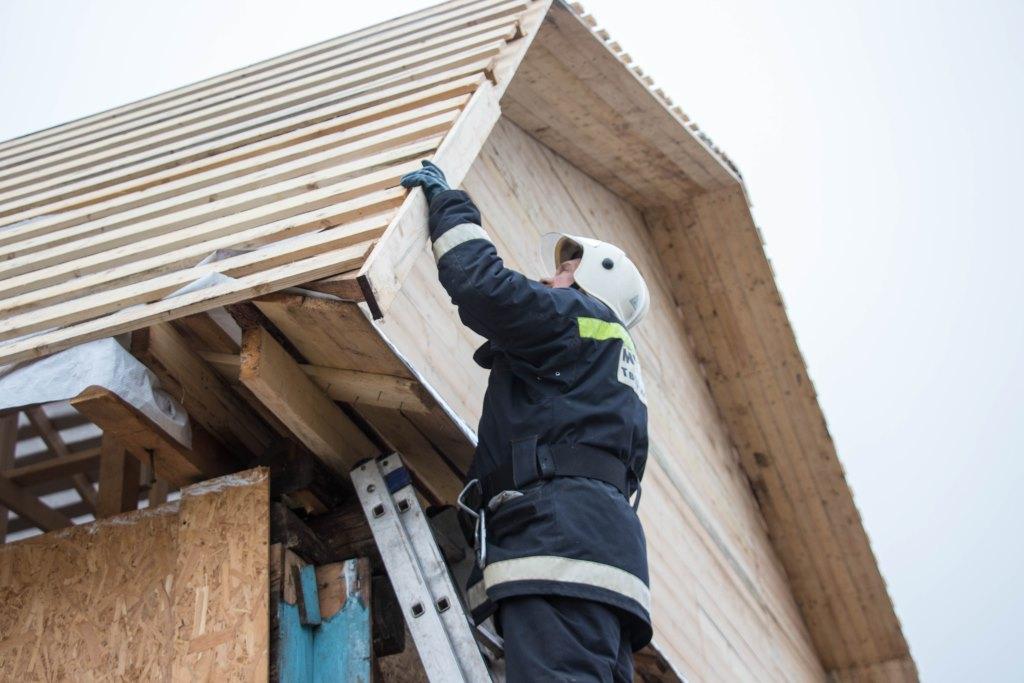 В Андреаполе восстановлено 58 домов, пострадавших во время смерча