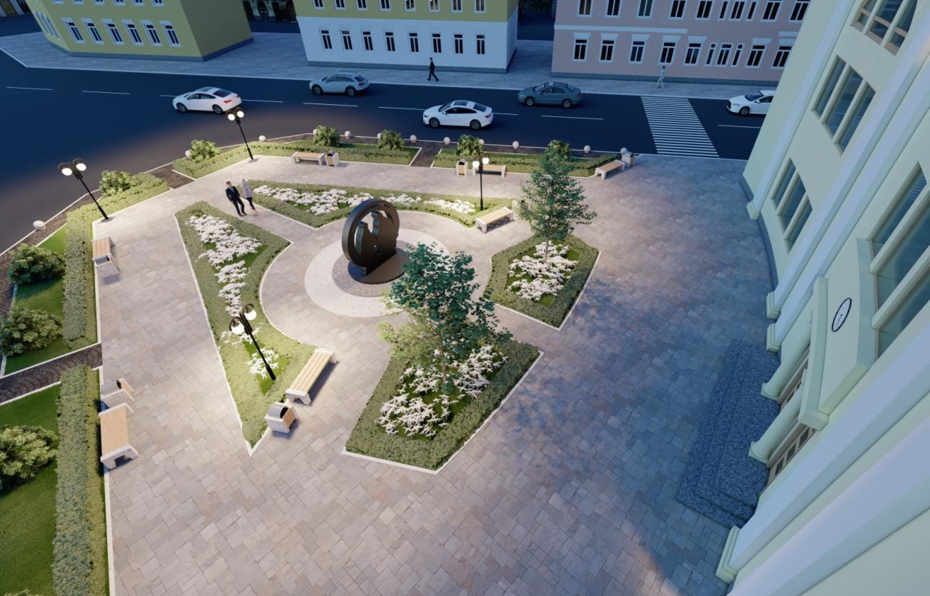 На площадь перед Дворцом бракосочетаний в Твери потратят еще почти 10 млн рублей - новости Афанасий
