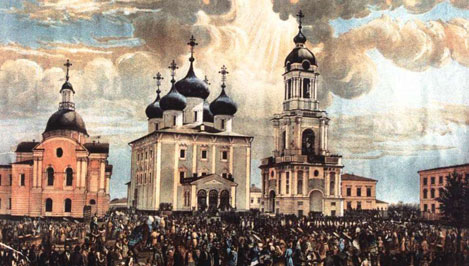 В Твери с молебна начнется строительство Спасо-Преображенского кафедрального собора