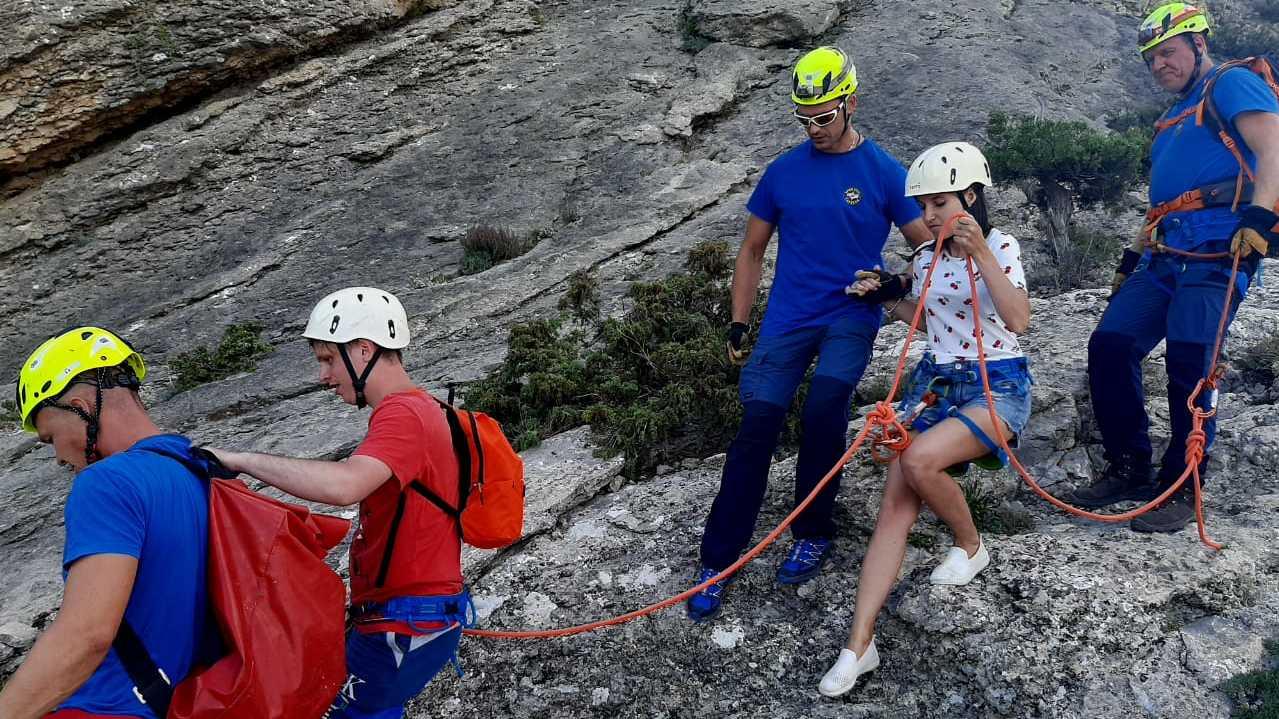 Туристы из Твери застряли на горе в Крыму - новости Афанасий