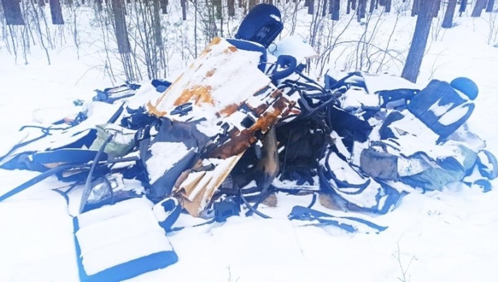 Жители деревни под Тверью жалуются на обгоревший мусор в Комсомольской роще