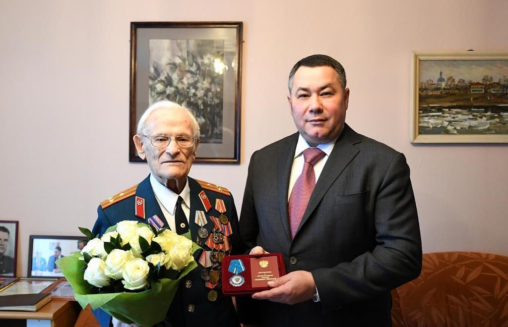 Ветерану Николаю Черных вручили Орден Почета - новости Афанасий