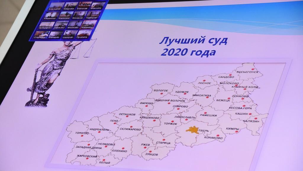 Назван лучший суд Тверской области-2020 - новости Афанасий